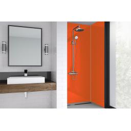Sunset Acrylic Bathroom Shower Panel - 4mm Gloss or Matt