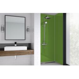 Olive Green Bathroom Shower Panel - 4mm Gloss or Matt