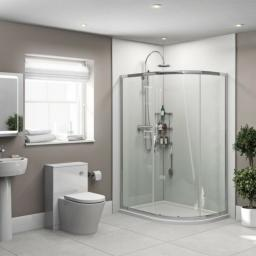 White Gloss Bathroom & Shower Wall Panel