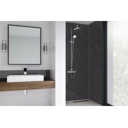 Sicilian Slate Bathroom Shower Panel