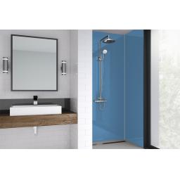 Skye Blue Acrylic Shower Panel