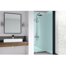 Green Mist Acrylic Bathroom Shower Panel - 4mm Gloss or Matt