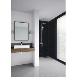 Black Galaxy Bathroom & Shower Panel