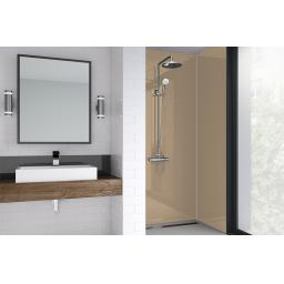 Mushroom Acrylic Bathroom Shower Panel - 4mm Gloss or Matt