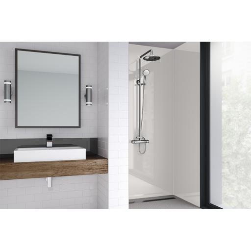 Magnolia Acrylic Bathroom Shower Panel - 4mm Gloss or Matt