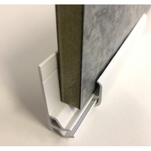 Wall Sealing & Capping Profile - 11mm Laminate
