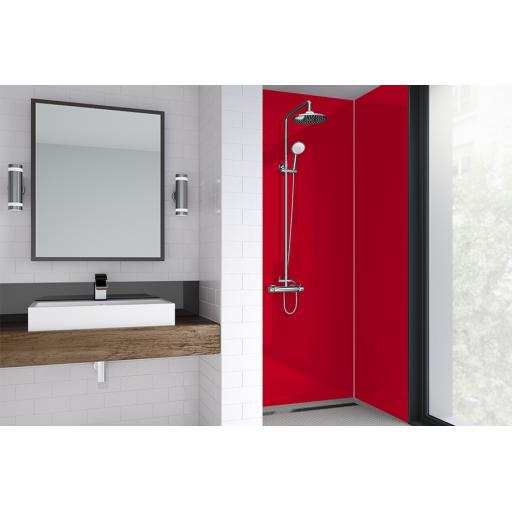 Flamingo Acrylic Shower Panel