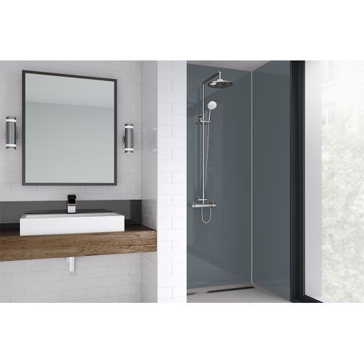 Slate Bathroom Acrylic Shower Panel - 4mm Gloss or Matt