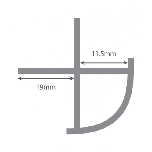 Wetwall External Corner Cross Section