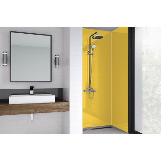 Sunshine Acrylic Bathroom Shower Panel - 4mm Gloss or Matt