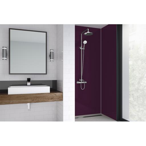 Jewel Acrylic Bathroom Shower Panel - 4mm Gloss or Matt