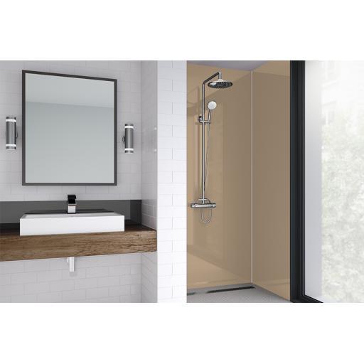 Mushroom Acrylic Shower Panel