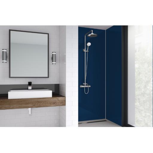 Starry Night Acrylic Shower Panel