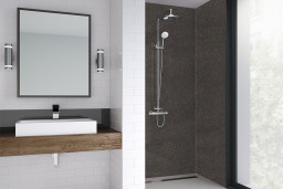 Levanto Sand Bathroom Shower Panel