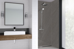 Ponente Sand Bathroom Shower Panel