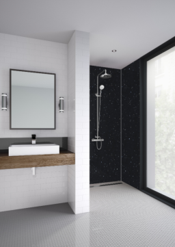 Black Galaxy Bathroom & Shower Panel